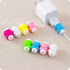 5Pcs Charger Cable Saver Charging Cord Wire Protector f. Apple iPhone iPod iPad
