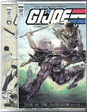 IDW G.I. JOE #247 VARIANT COVER A AND B FIRST PRINTING DAWN! FEMALE SNAKE-EYES!