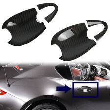 Carbon Fit Mazda MX-5 Miata Convertible ND Out Side Door Bowl Cover 16 17 GX