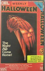 Halloween VHS John Carpenter Original VHS Tape Ex Rental Very Rare
