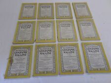 Volume LXV 1934 National Geographics January- December complete set