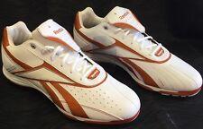 Reebok Vero Iv Low Mm Metal Baseball Men's Shoes Size 15 Orange White