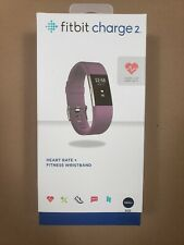 Fitbit Charge 2 Heart Rate + Fitness Wristband Plum Small