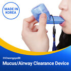 Mucus/Airway Clearance Device for Asthma COPD Cystic Fibrosis  Lung Therapy