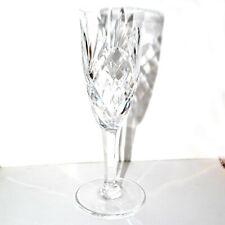 Flûte à champagne CHANTILLY Cristal de SAINT-LOUIS signé - Retaillé 17.8cm