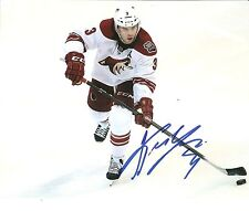 Keith Yandle Coyotes Signed Auto 8x10 Photo Coa