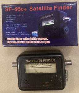 Satellite Finder Signal Strengh Dish Directv Dish Compass SF-95c+ .95-2.3MHz