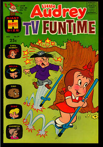 Little Audrey TV Funtime #29 High Grade Harvey File Copy Giant 1970 NM-