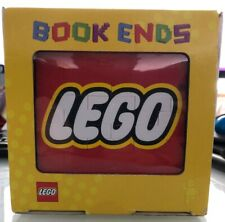 Lego 852521 Bookends (2) / Rare & Discontinued / Brand New & Sealed