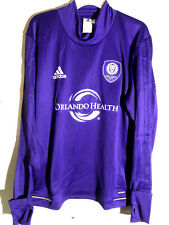 Adidas Long Sleeve MLS Jersey Orlando  Orlando City  Team Purple Alt sz XL