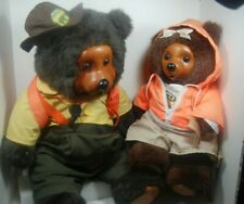 Raikes Bears -Vintage 1990 Camp Grizzly Wendell  & Hillary