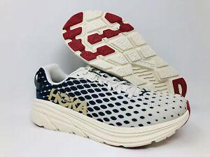 HOKA ONE ONE Men's Rincon 2 Running Shoes, Vintage Indigo/Tofu, 11.5 D(M) US