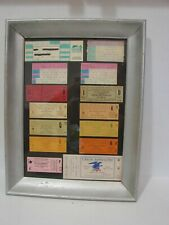 Frank Sinatra Concert Memorabilia, Framed