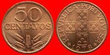 50 CENTAVOS 1978 SIN CIRCULAR PORTUGAL-0171SC