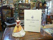 Royal Doulton Porcelain Figurine Linda from Pretty Ladies Collection with Box