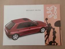Peugeot 306 XSi    Brochure   1993