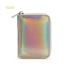 Fashion Shiny Leather Hologram Laser Wallet Metallic Color Clutch Coin Purse New