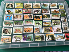 Thematic stamps Wild Animals Good condition