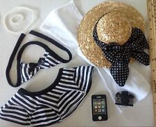 "Bathing Suit SET for American Girl Doll 18"" Clothes & Accessories"
