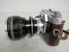 VOITLANDER BESSAMATIC CAMERA WITH FACTORY FITTED ZOOM LENS & CASE C1959