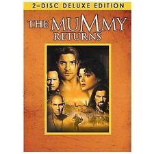 DVD: MUMMY RETURNS [2 DISC DELUXE SET]WIDESCREEN  BRENDAN FRASER,THE ROCK++[NEW]
