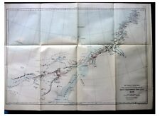 1884 Arctic Expeditions - GREELY - Lockwood - RAY - Greenland - ALASKA - MAPS 11