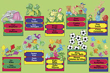 24-piece Deluxe Bilingual Numbers  Floor Puzzle by Melissa & Doug (NEW) 2863