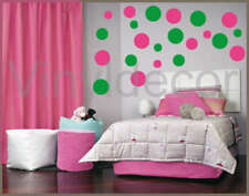 Vinyl wall art decor stickers 216 POLKA DOT circles DPg