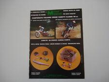 advertising Pubblicità 1978 MOTORI MINARELLI/BALLABIO/RENATO CHIABERTO
