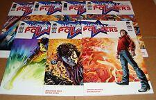 America's Got Powers 1 2 3 4 5 6 7 Full Set 1st Prints Bryan Hitch