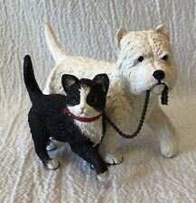 Goebel Paw Prints Dog Cat Walking Figure
