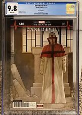 Daredevil #610 2nd Print CGC 9.8 White Pages - 1st Appearance of Vigil Low Print