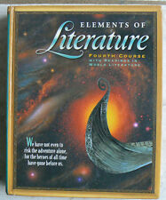 Holt Elements of Literature,Course 4, 10/10th 2003 Text w/Readings in World Lit