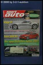 Sport Auto 4/07 Artega GT KTM X-Bow Donkervoort D8 GT