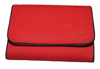 New Authentic Vintage LACOSTE Ladies Girls COIN PURSE Classic 4 Red