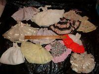 Vogue Ginny Storybook ++ 12 Doll Dresses 1950's Machine & Hand Made NO Tags (M9)