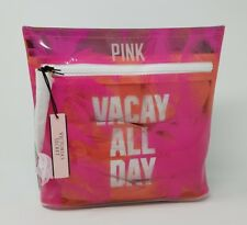 VICTORIA'S SECRET PINK VACAY ALL DAY BEAUTY COSMETIC TRAVEL BAG NWT