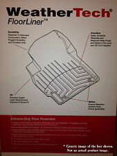 WeatherTech DigitalFit Mats for 2012-15 Toyota Tacoma Double Cab (446551-440213)