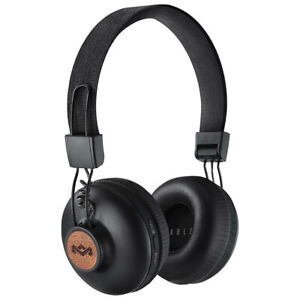 House of Marley Positive Vibrations 2 Wireless Bluetooth Headphones Headset Mic