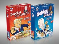 2020 Limited Edition Cereal Box Set - Lucky Trumps & Golden Biden's