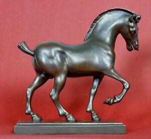CHEVAL Skulptur Pferd Leonardo da Vinci DAV02 Parastone Museion H 24.00 cm