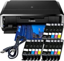 Canon PIXMA IP7250 Drucker + USB + 15x XL TINTE, CD-Druck, Duplex, Foto, WLAN