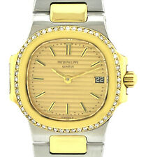 exclusive Patek Philippe Nautilus Damenuhr Ref. 4700 Stahl/18ct. Gold Brillanten