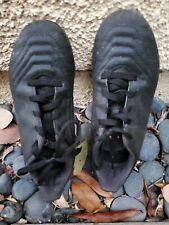 Predator Boys  Soccer Shoes Cleats size 13 1/2 black