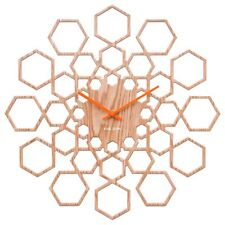 Karlsson Clock Sunshine Wall Designet Hexagon