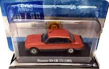 PEUGEOT 504 GR TN (1985) 80/90 Unforgettable Cars 1:43 Diecast # 10 ARGENTINA