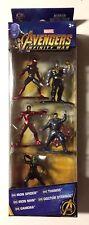 Avengers: Infinity War Nano Metalfigs Mini-Figures 5-Pack-IMMEDIATE SHIPPING!!