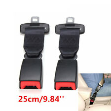9'' inch Universal Car Seat Belt Safety Belt Extender Extension 2.1cm Buckle 2X