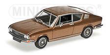 """Minichamps 430019128 # Audi 100 Coupe année 1969 dans """"marron métallisé"""" 1:43"""