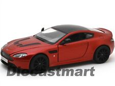 MOTORMAX 1:24 ASTON MARTIN V12 VANTAGE S NEW DIECAST CAR METALLIC RED 79322